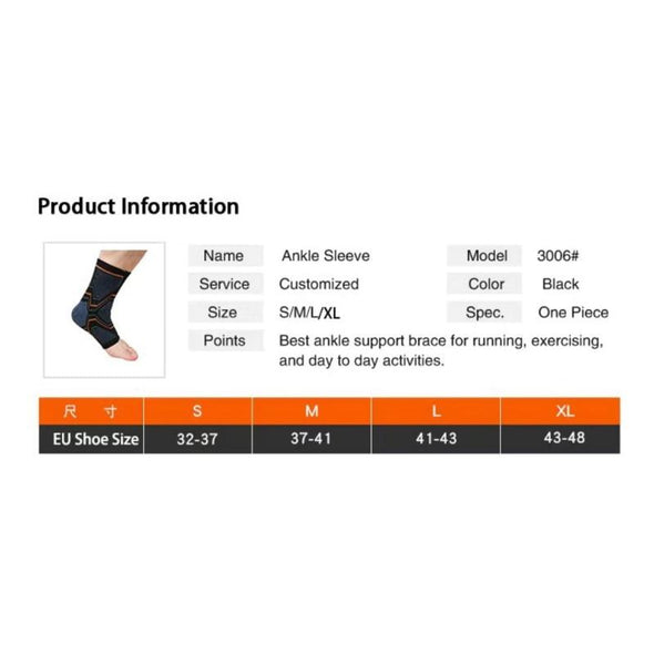Ankle Support Brace - AnkleBrace - Trusty Fitness