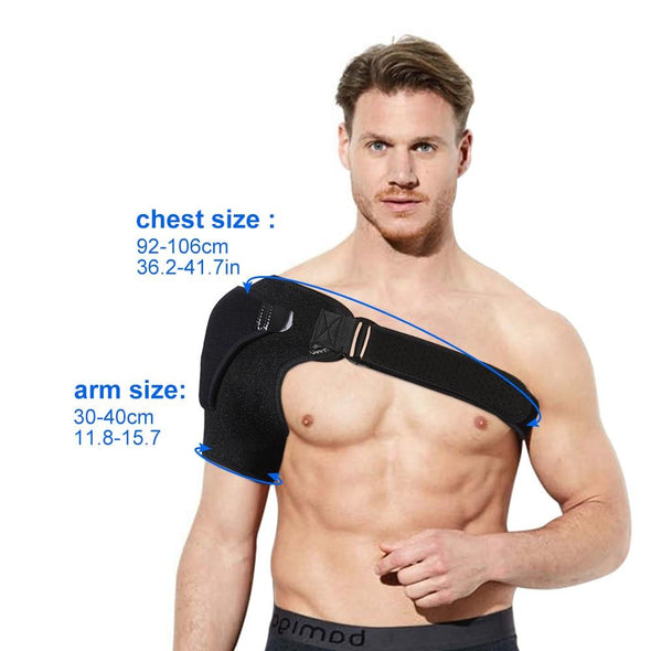 Adjustable Shoulder Support Brace - ShoulderBrace - Trusty Fitness