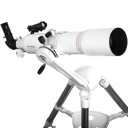 FirstLight AR80mm White Tube Refractor with Twi Nano