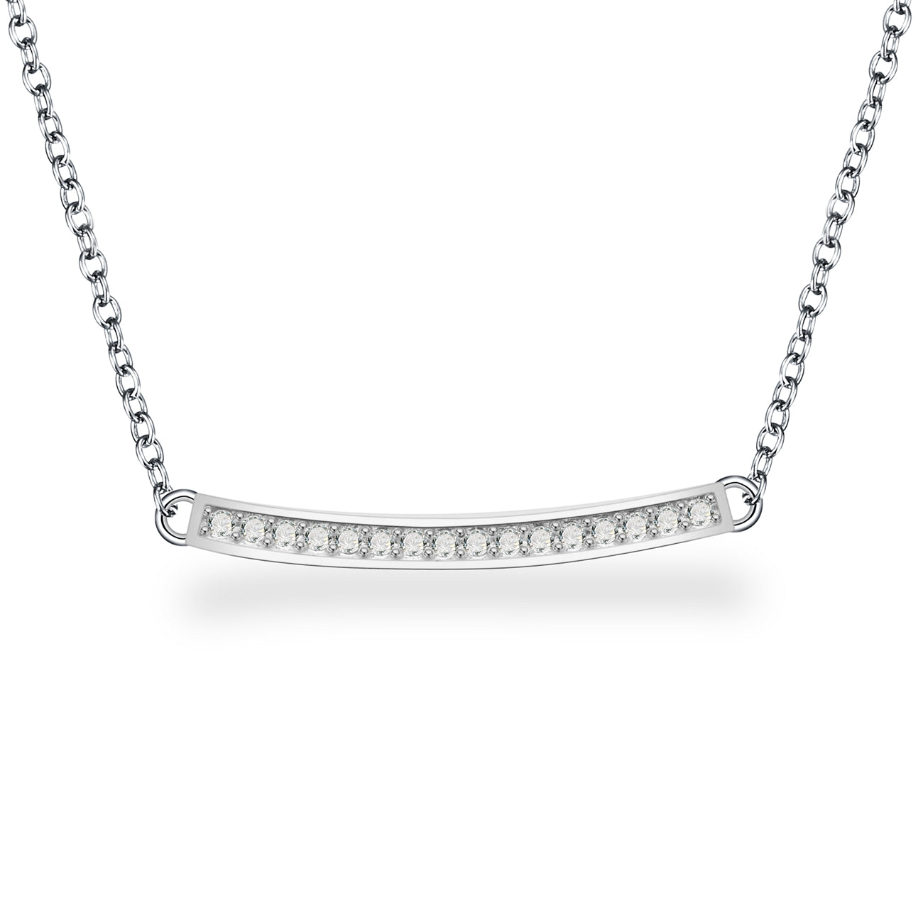 AMANDA STERLING SILVER NECKLACE