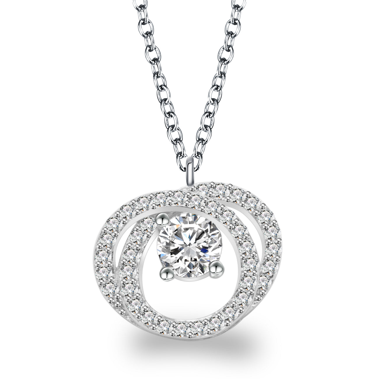 DINAH STERLING SILVER NECKLACE
