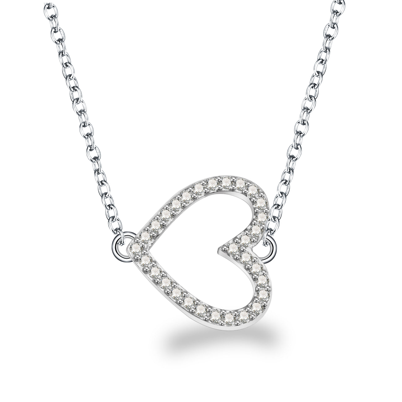 SHERRIE HEART NECKLACE