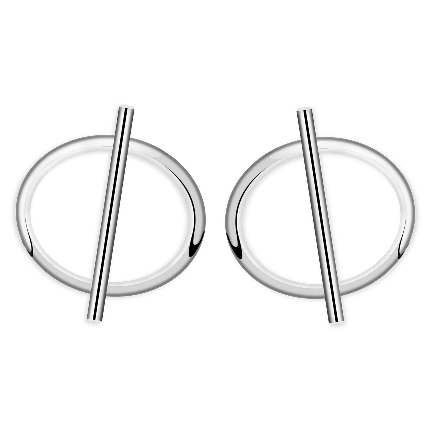 Vivienne Sterling Silver Earrings