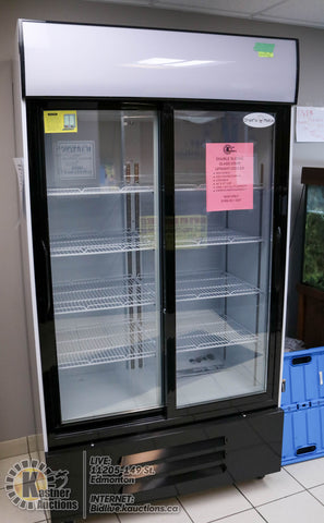 Double Sliding Glass Door Upright Cooler