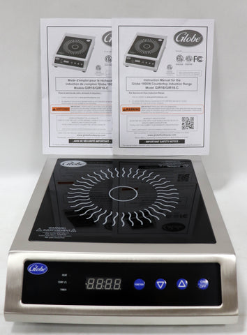 Image of Globe Induction Range 1800W Portable Ceramic Cooktop