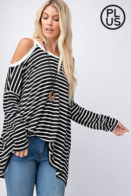 Rae Mode Cold-Shoulder Top