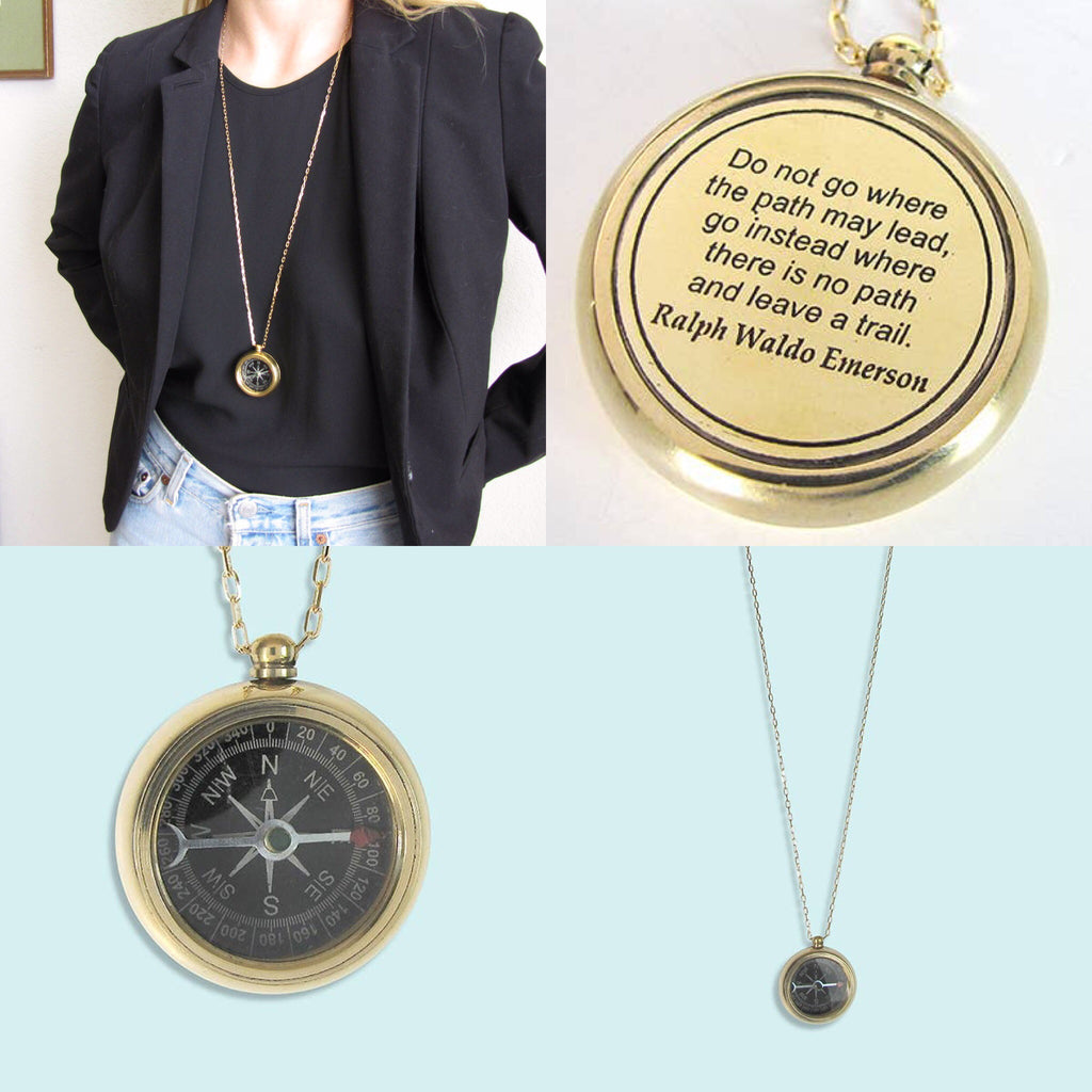 Trailblazer Compass Necklace