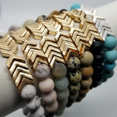 Chevron Stretch Bracelets