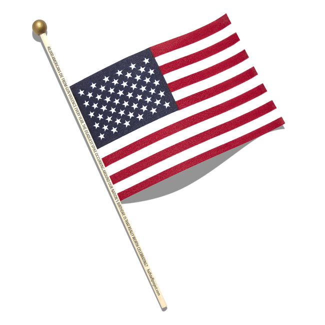 Half Staff Project Flag