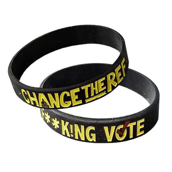 Just F**k!ng Vote Wristband