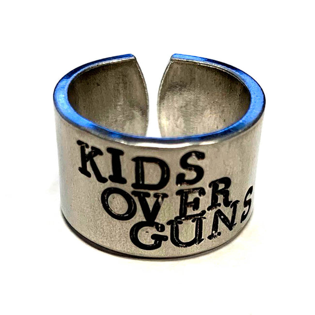 Kids Over Guns Ring