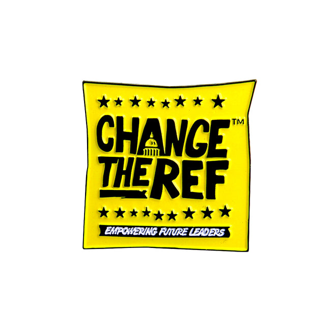 Change The Ref Enamel Pin