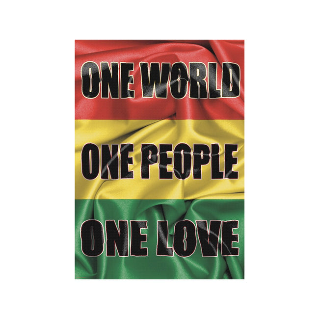 Rasta One Love Poster