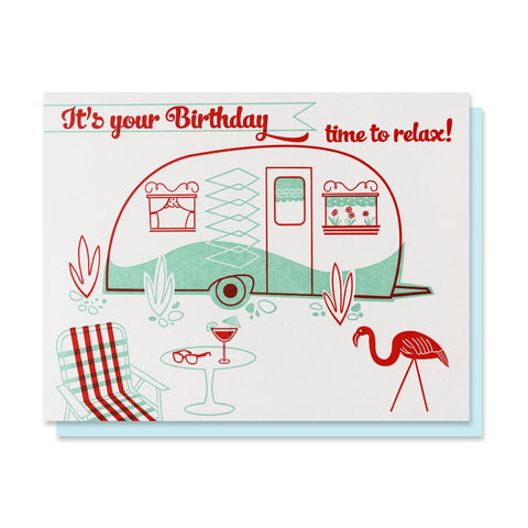 Birthday Camper Card