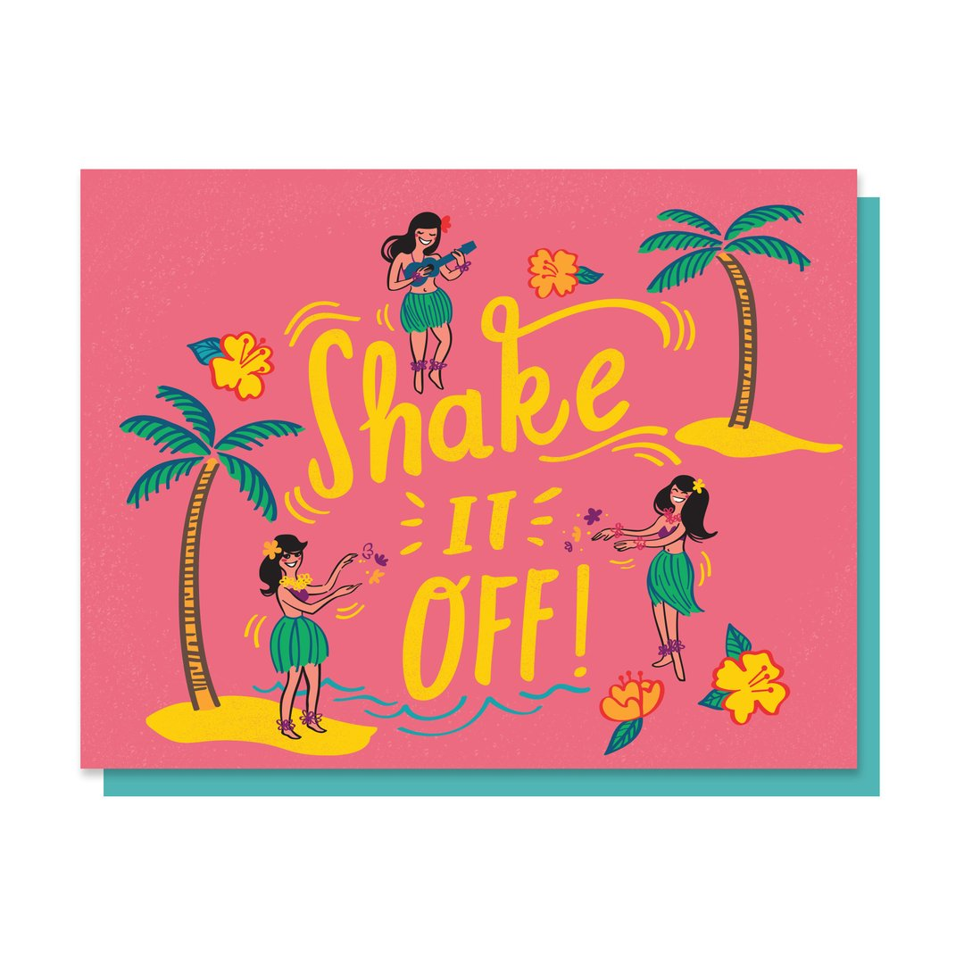 Shake It Off Card