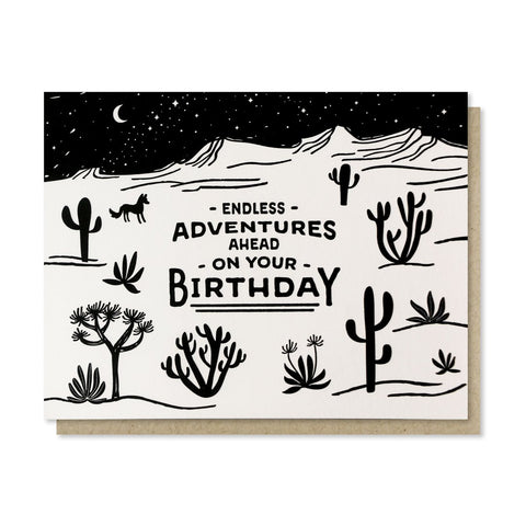 Endless Adventure Card
