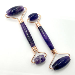 Amethyst Soothing Face-Massage Roller