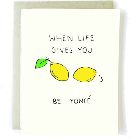 Lemonade Greeting Card - Artisan Collective