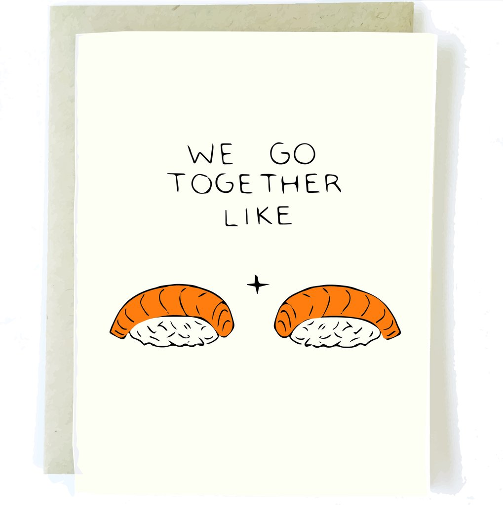 Sushi Love Card - Artisan Collective