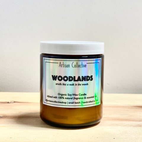 Woodlands Soy Wax Candle