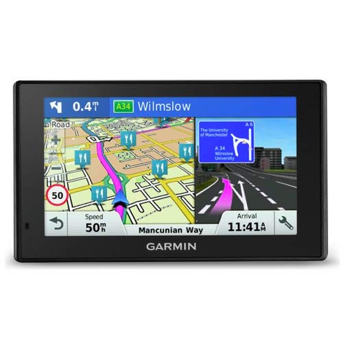 Garmin DriveSmart 50LMT UK and Europe Sat Nav