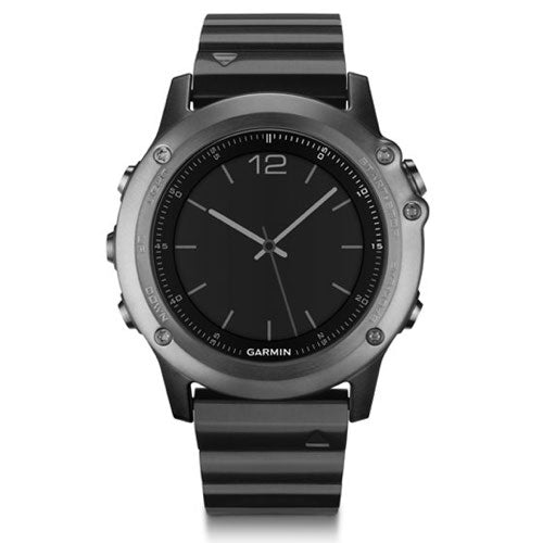 Garmin Fenix 3 Sapphire GPS Running Sports Watch - Steel Strap