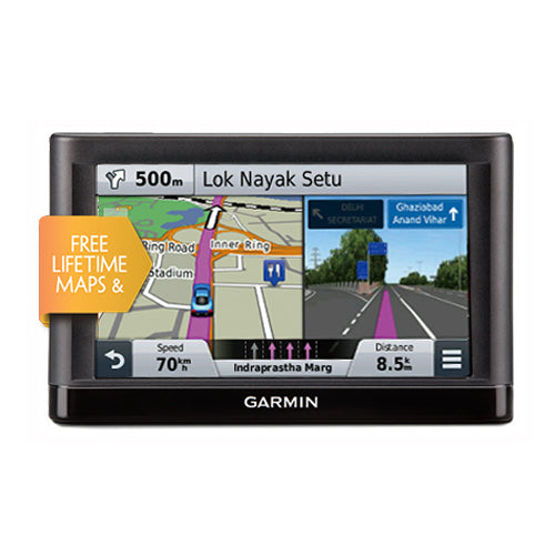 Garmin Nuvi 65LM Sat Nav Free Lifetime Maps UK & Europe