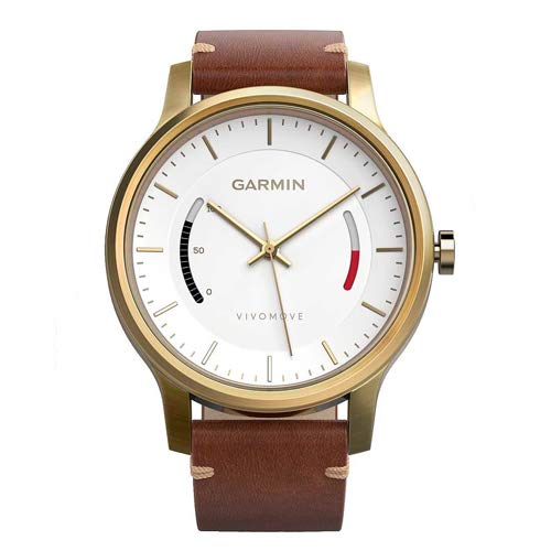 Garmin Vivomove Premium Sports Watch Gold
