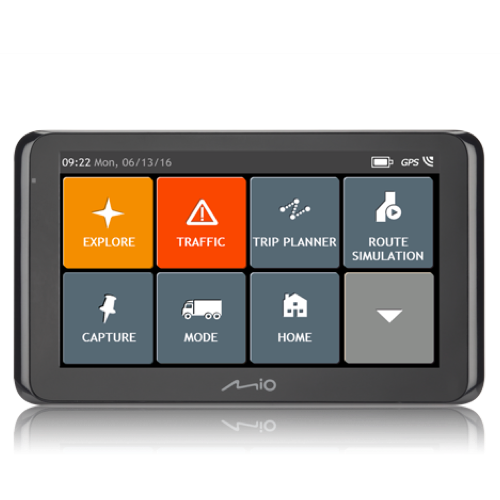 Mio Spirit 8670LM Truck Sat Nav Free Lifetime Maps Traffic
