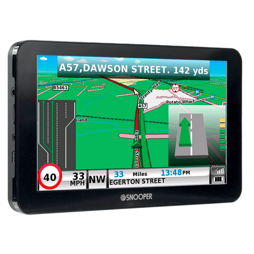 Snooper S6810 Bus/Coach Sat Nav