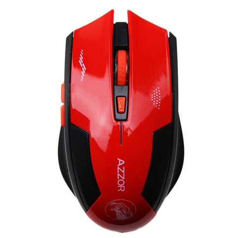 Saber Wireless Mouse (red)