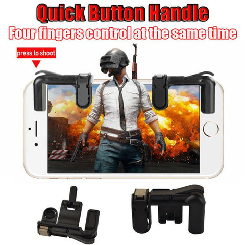 Mobile Gaming CLAW Trigger - Fortnite Mobile Controller Trigger, PUBG Mobile Trigger, and Rules of Survival Trigger