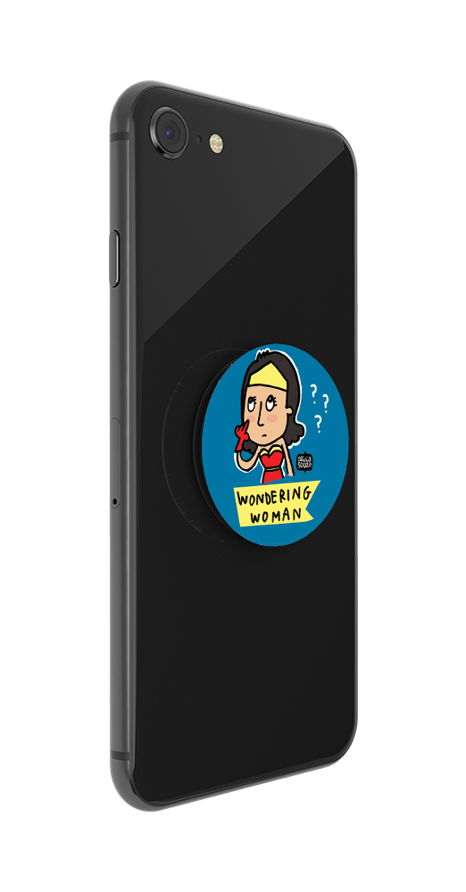Wondering Woman By Alicia Souza, PopSockets