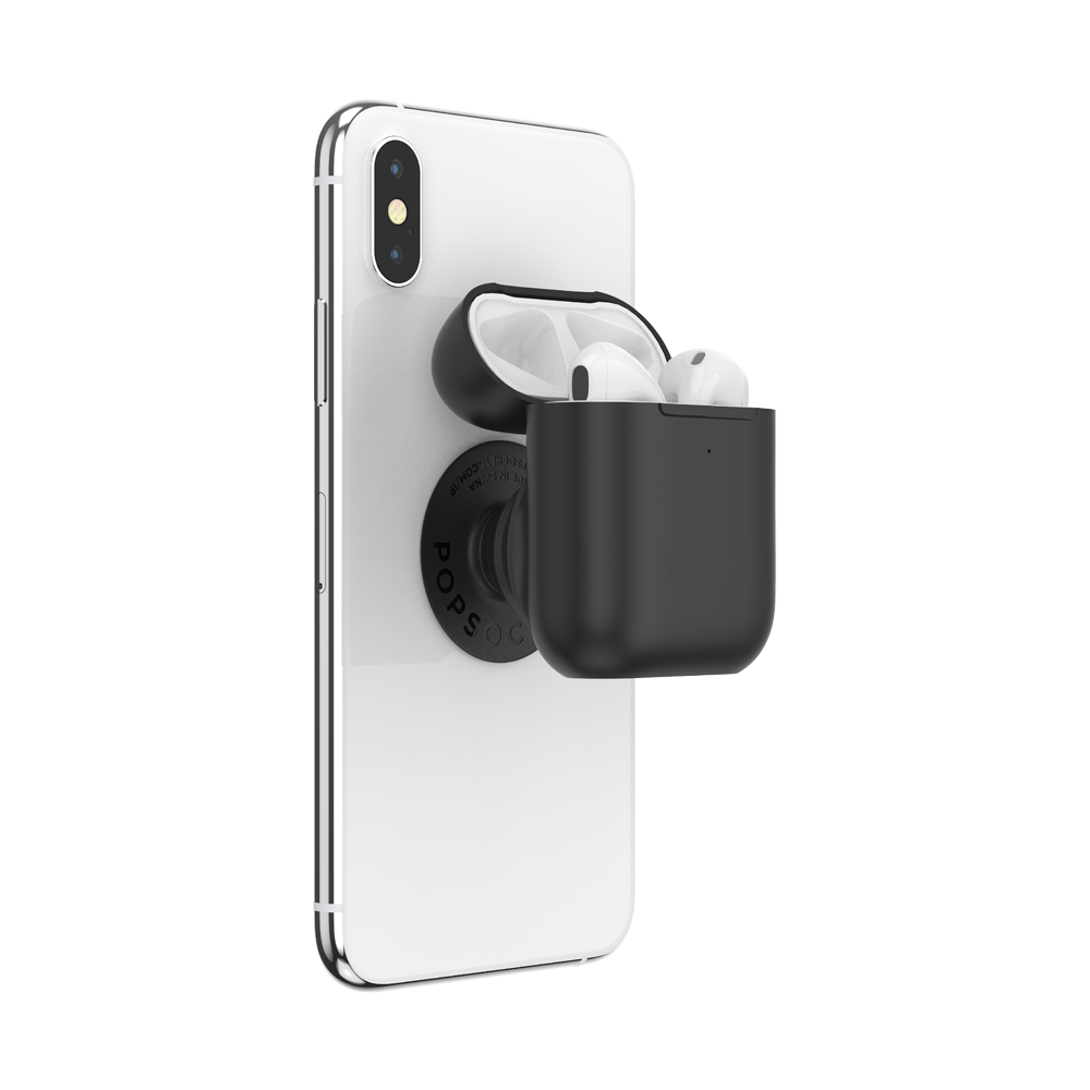 PopGrip AirPods Holder Black, PopSockets