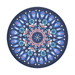 Butterfly Mandala Blue, PopSockets
