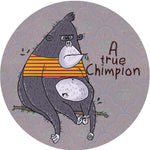 Chimpion by DoodleoDrama, PopSockets