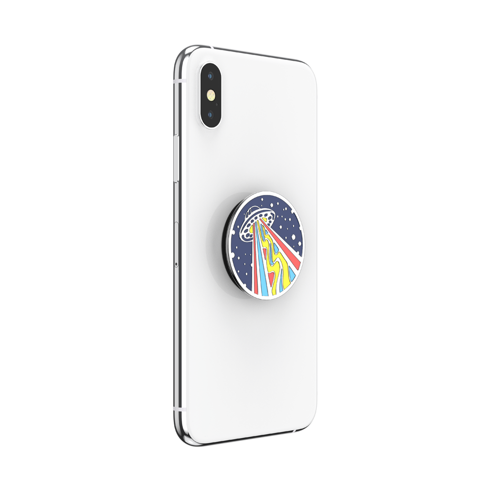 Enamel Outta This World Navy, PopSockets