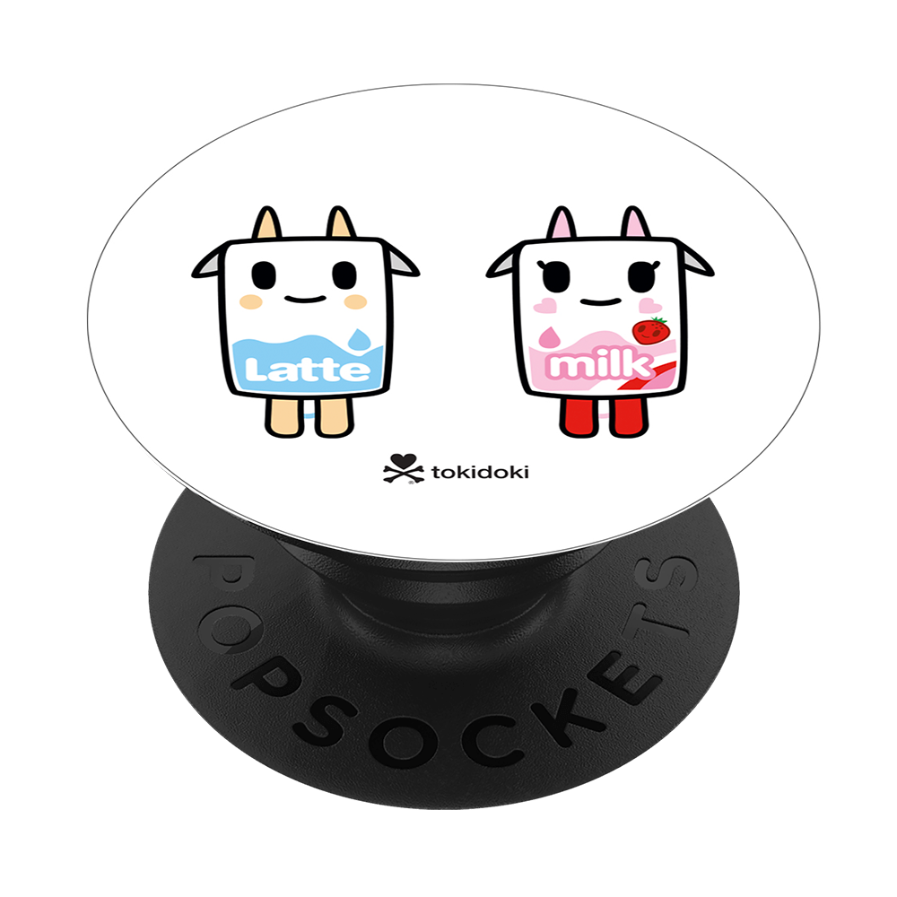 Latte and Strawberry Milk by tokidoki, PopSockets