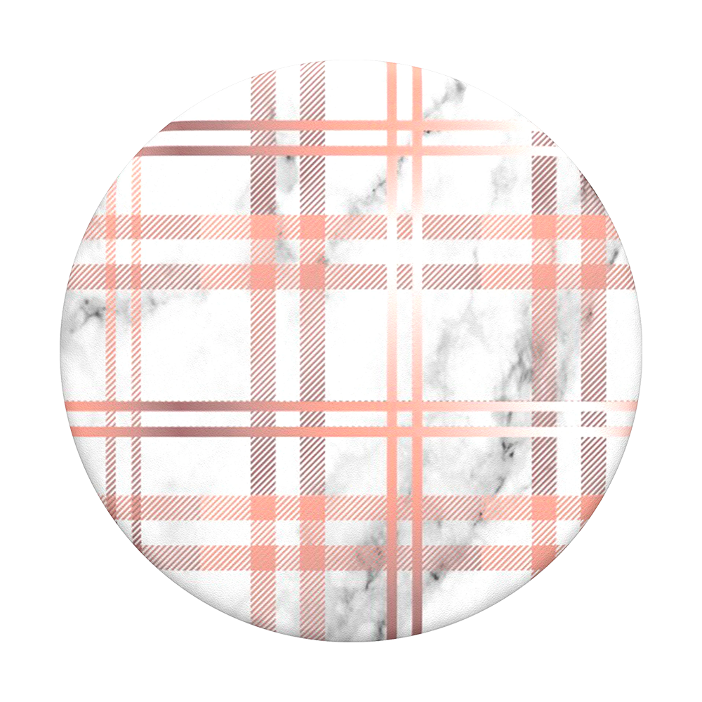 Marble Plaid, PopSockets
