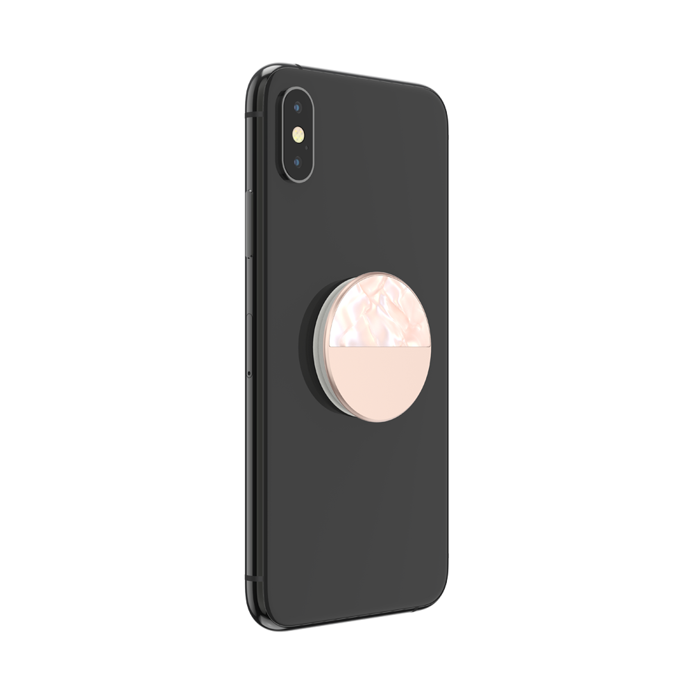 Glam Inlay Acetate Rose Gold, PopSockets