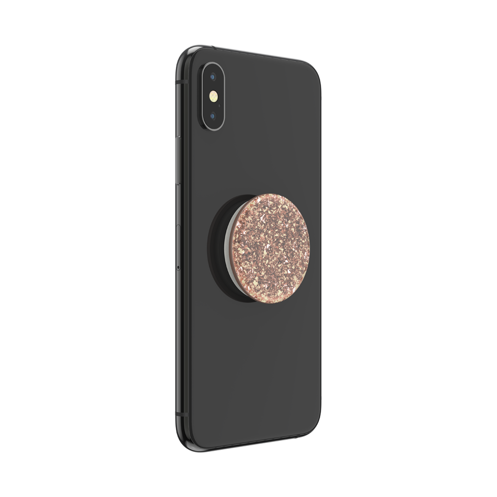 Foil Confetti Rose Gold, PopSockets