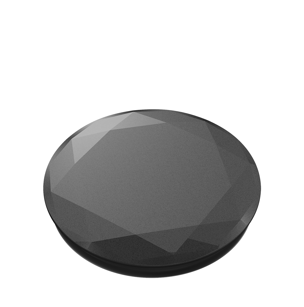 Metallic Diamond Black, PopSockets