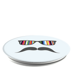 Light Blue Mustache, PopSockets