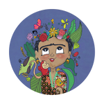 Frida By DoodleoDrama, PopSockets
