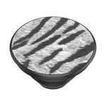PopTop- Vegan Leather Zebra, PopSockets