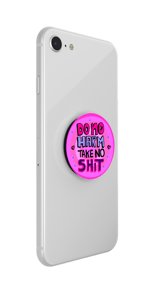 Do No Harm, Take No Shit By The Filmy Owl, PopSockets