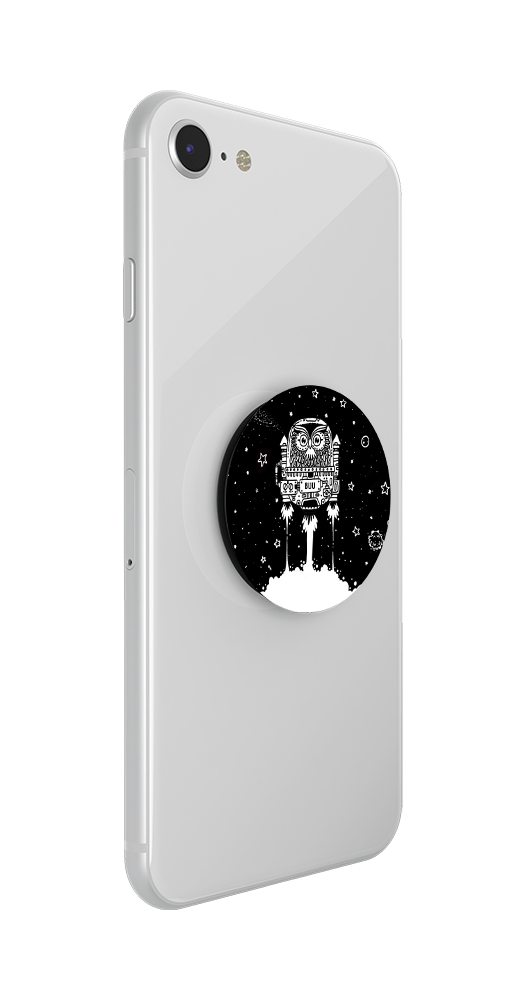 Hoots In Space by Rohan, PopSockets