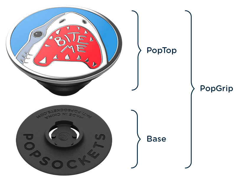 anatomy of a popsockets popgrip