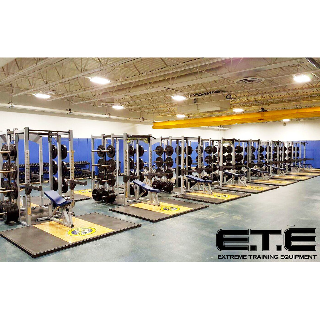 Extreme Training Equipment weight room set up