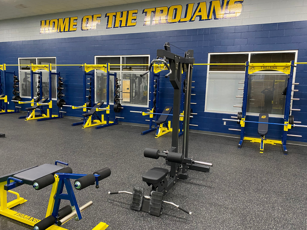 High School Weight Room Outfitting